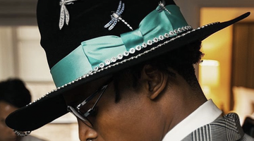 Alberto Creates MET GALA hat for Cam Newton with Tiffany & Co