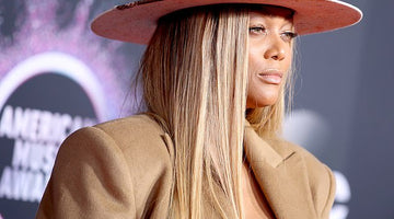 Tyra Banks Wears Custom Meshika Hat at 2019 American Music Awards