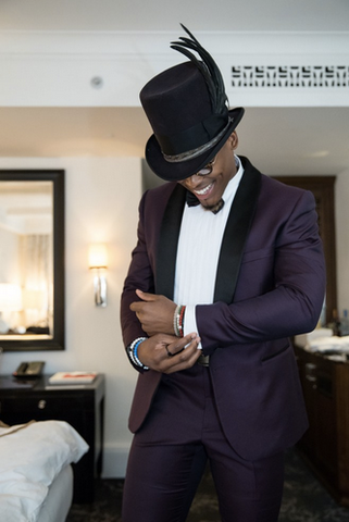 Cam Newton Meshika Custom Top Hat Vogue