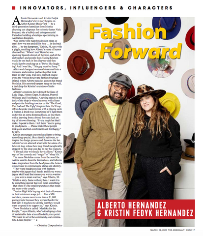 Fashion Forward - Hatmaker Alberto Hernandez and Kristin Fedyk