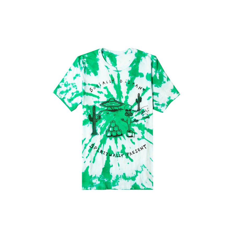 We Come With TP Tie Dye Tee