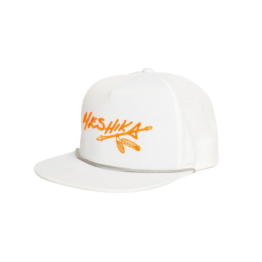 "Meshika Big Fit ""White & Orange"""