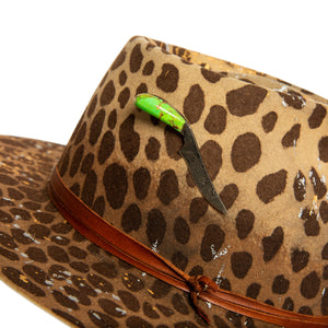 Luxury Fedora hat Accessories by Alberto Hernandez of Meshika Hats in Los Angeles California