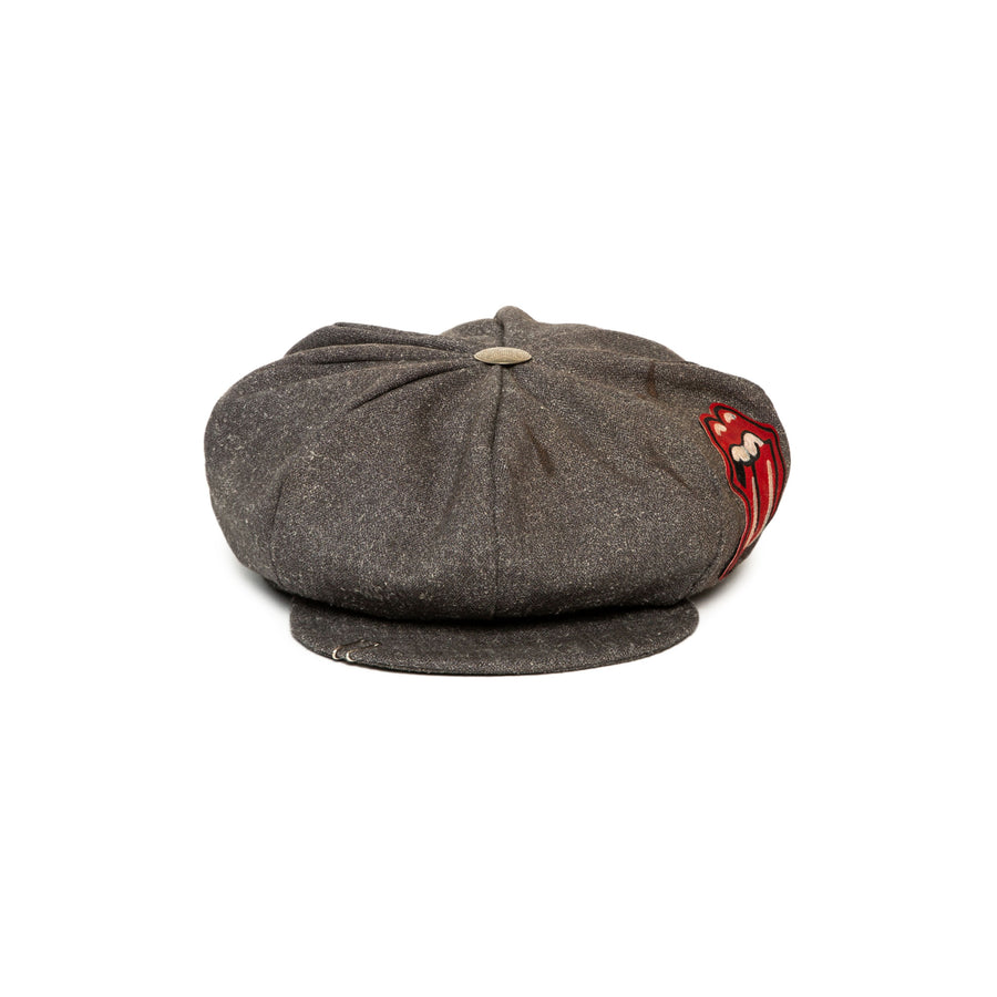 Luxury Handmade News Boy Cap made with wool by Hatmaker Alberto Hernandez of Meshika Hats