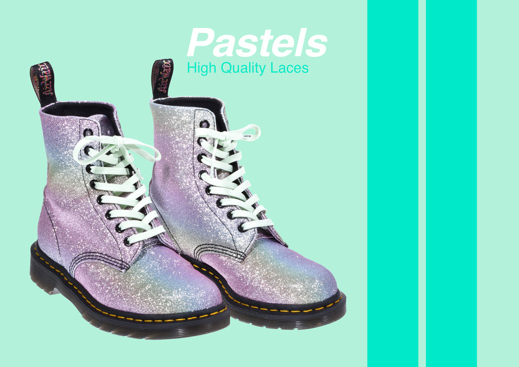 Pastels Shoelaces