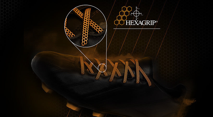 Hexagrip® Football Boot Laces
