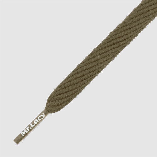 Flatties Shoelaces - Khaki