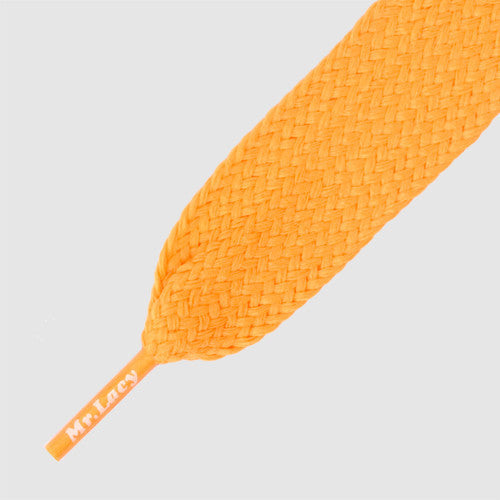 Mr.Lacy Fatties Shoelaces - Bright Orange