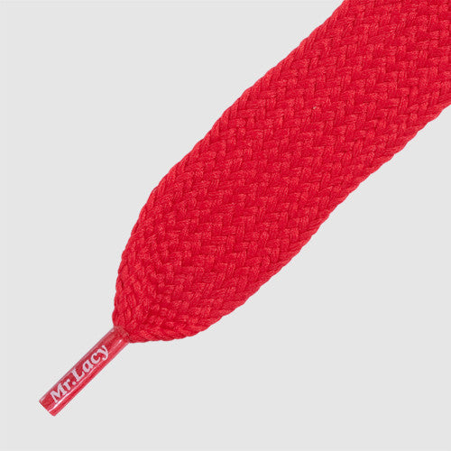 Mr.Lacy Fatties Shoelaces - Red