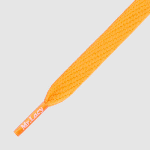 Mr.Lacy Flatties Shoelaces - Bright Orange