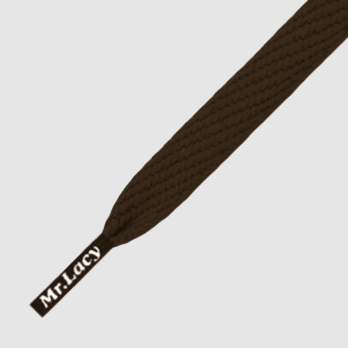 Mr.Lacy Flatties Shoelaces - Brown