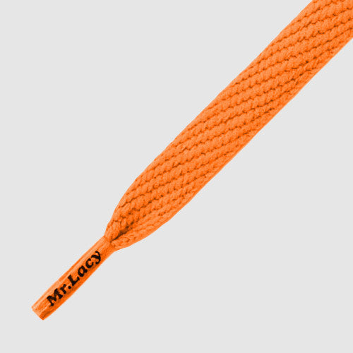 Mr.Lacy Flatties Shoelaces - Burnt Orange