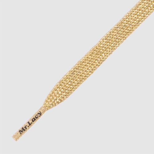 Mr.Lacy Flatties Shoelaces - Gold