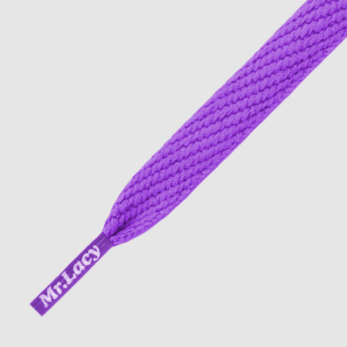 Flatties Shoelaces - Purple