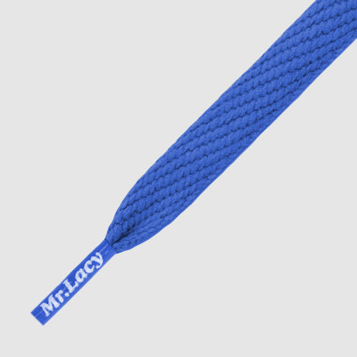 Flatties Shoelaces - Royal Blue