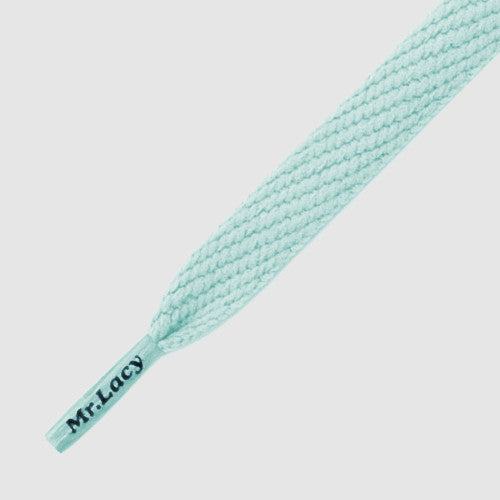 Flatties Shoelaces - Smooth Blue