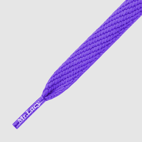 Flatties Shoelaces - Violet