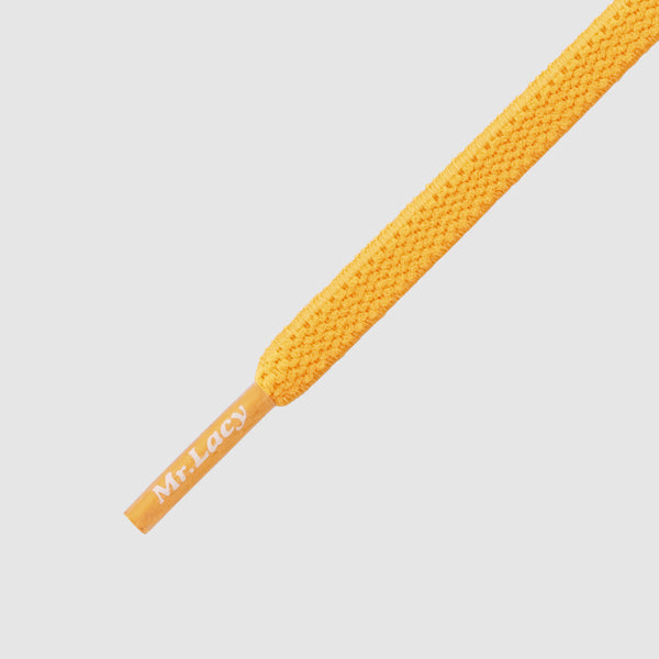 Flexies 110 cm Shoelaces - Bright Orange