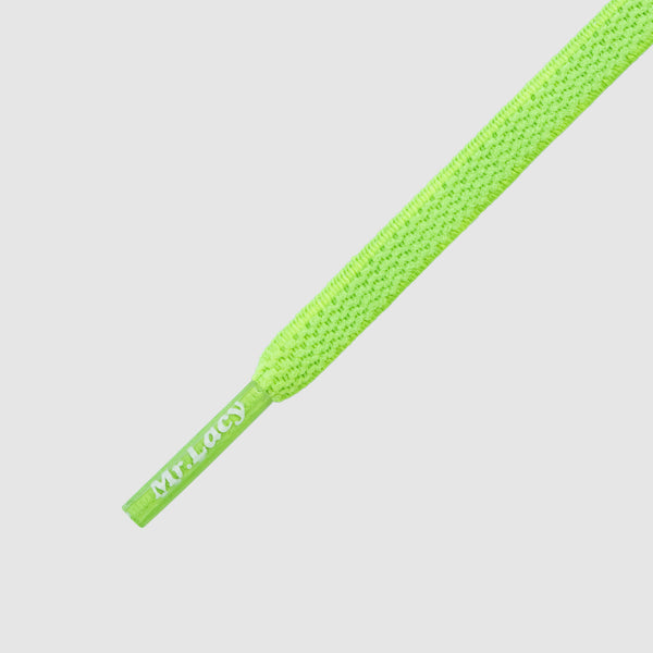 Flexies 110 cm Shoelaces - Neon Green
