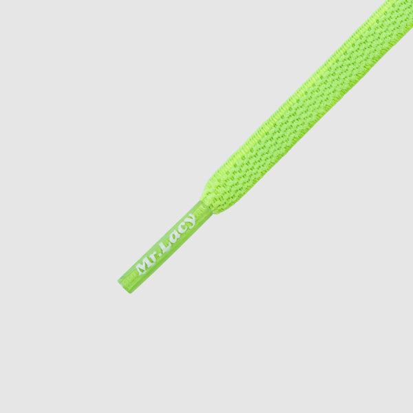 Flexies 90 cm Shoelaces - Neon Green