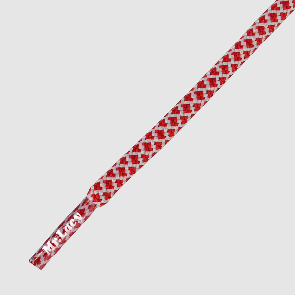 Ropies Shoelaces - Red/White