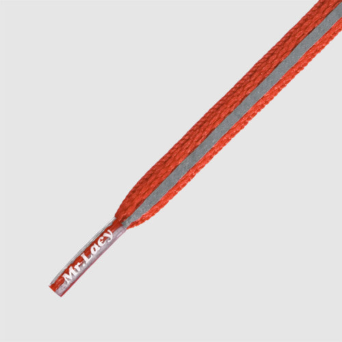 Runnies Reflective Shoelaces - Red