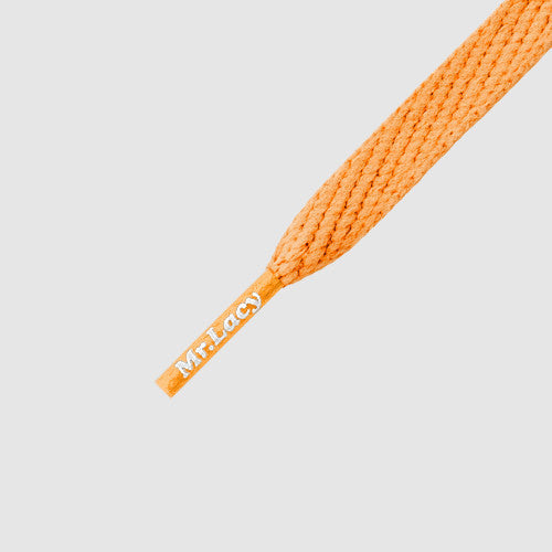 Smallies Shoelaces - Bright Orange