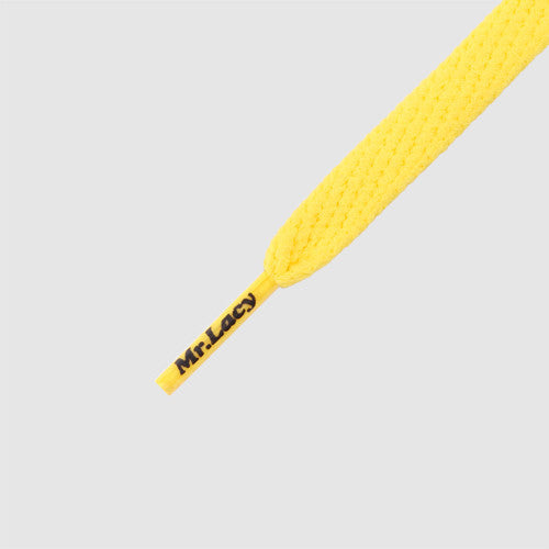 Smallies Shoelaces - Yellow