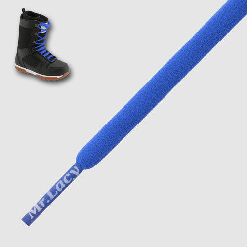Snowies Snowboard Boot Laces - Royal Blue