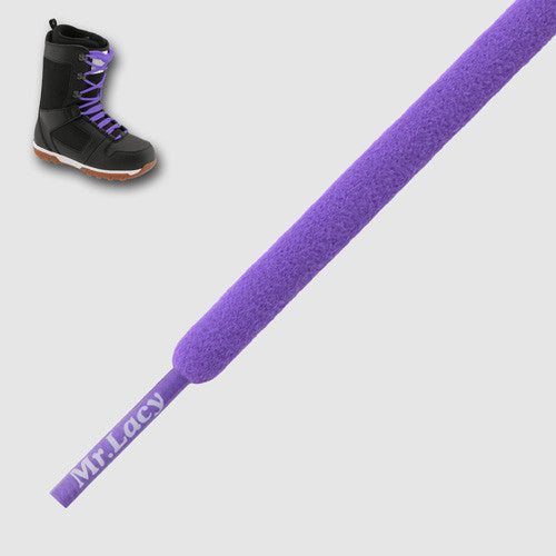 Snowies Snowboard Boot Laces - Violet
