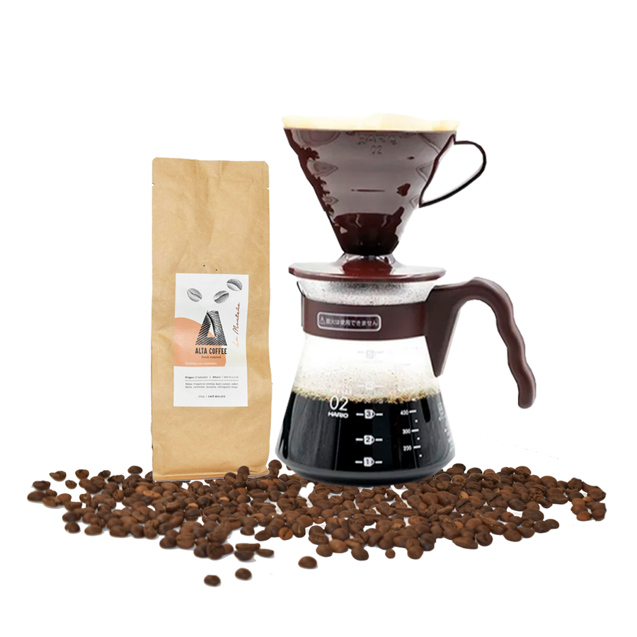 Kit V60 + Café de Especialidad