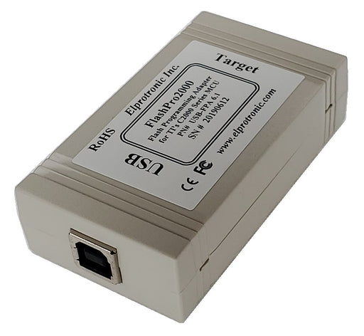 C2000 Flash Programmer (USB-FPA 6.1) USB View