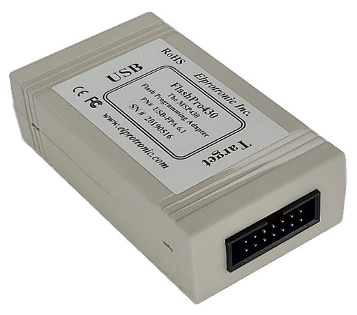 MSP430 Flash Programmer (USB-FPA 6.1) Target View