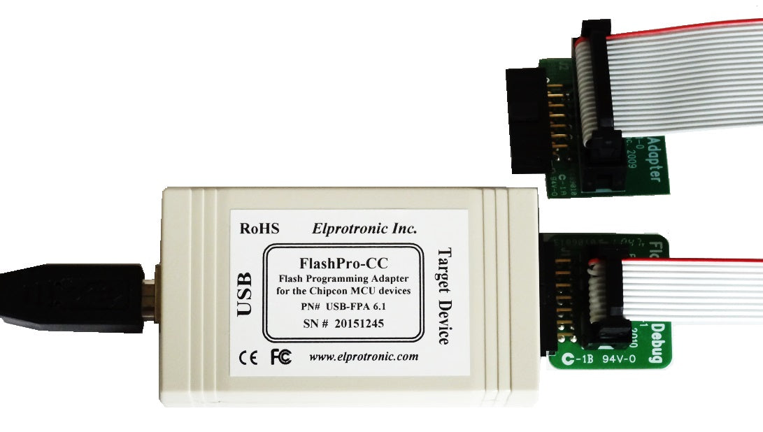 Chipcon (CC) Flash Programmer (USB-FPA 6.1)