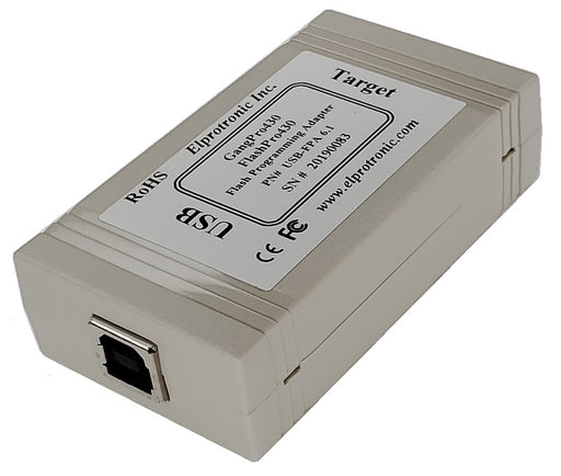 MSP430 Flash Programmer (USB-FPA 6.1) USB View