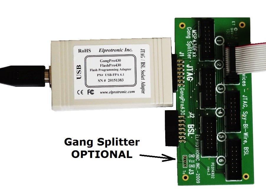 MSP430 Flash Programmer (USB-FPA 6.1)
