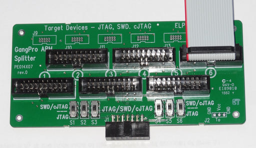 6 target gang connector for ARM