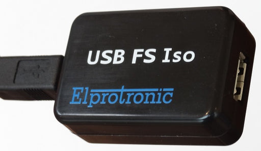 USB isolator top view