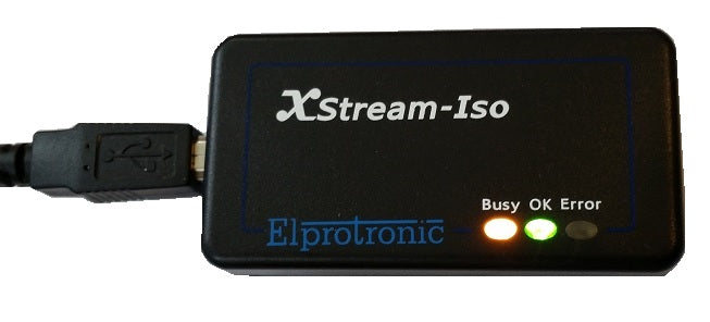 STM8, AVR, PIC Flash Programmer (XStream-Iso)
