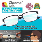 ChromaLabs™ Color Enhancing Color Blind Glasses