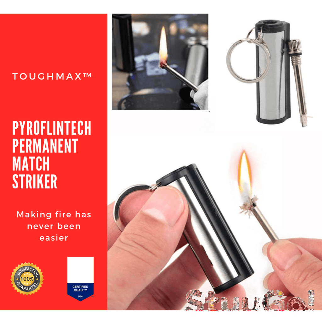 TOUGHMAX™ Pyroflintech Permanent Match Striker