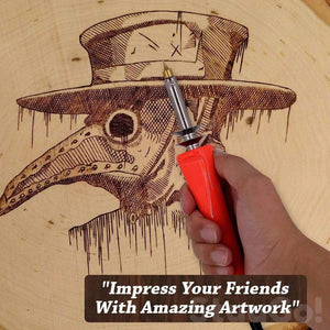 CraftMate™  Professional Wood Burning Art Kit