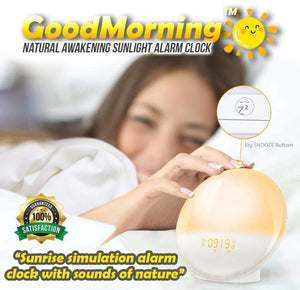 GoodMorning™ Natural Awakening Sunlight Device