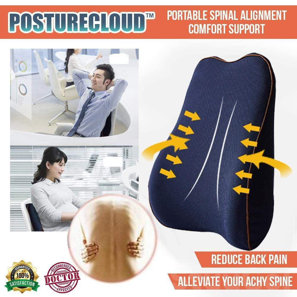 PostureCloud™   Portable Spinal Alignment Comfort Support-HOT