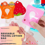 TravelMate™ Reusable Travel Lotion Bag (5 Pack)