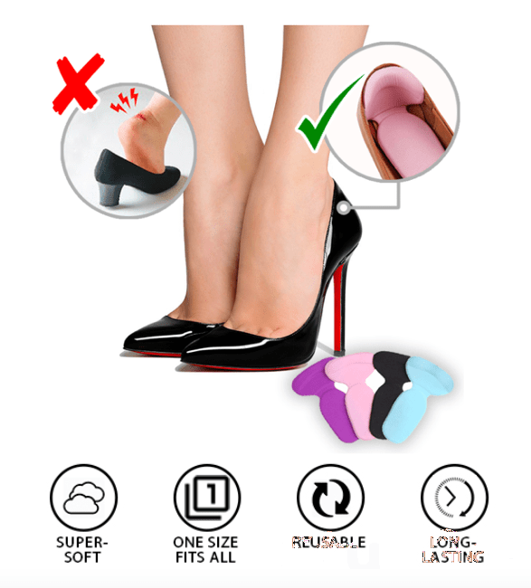 SoftSet™ Anti-Blister Heel Cushions