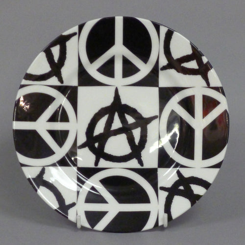 Anarchy Peace Plate