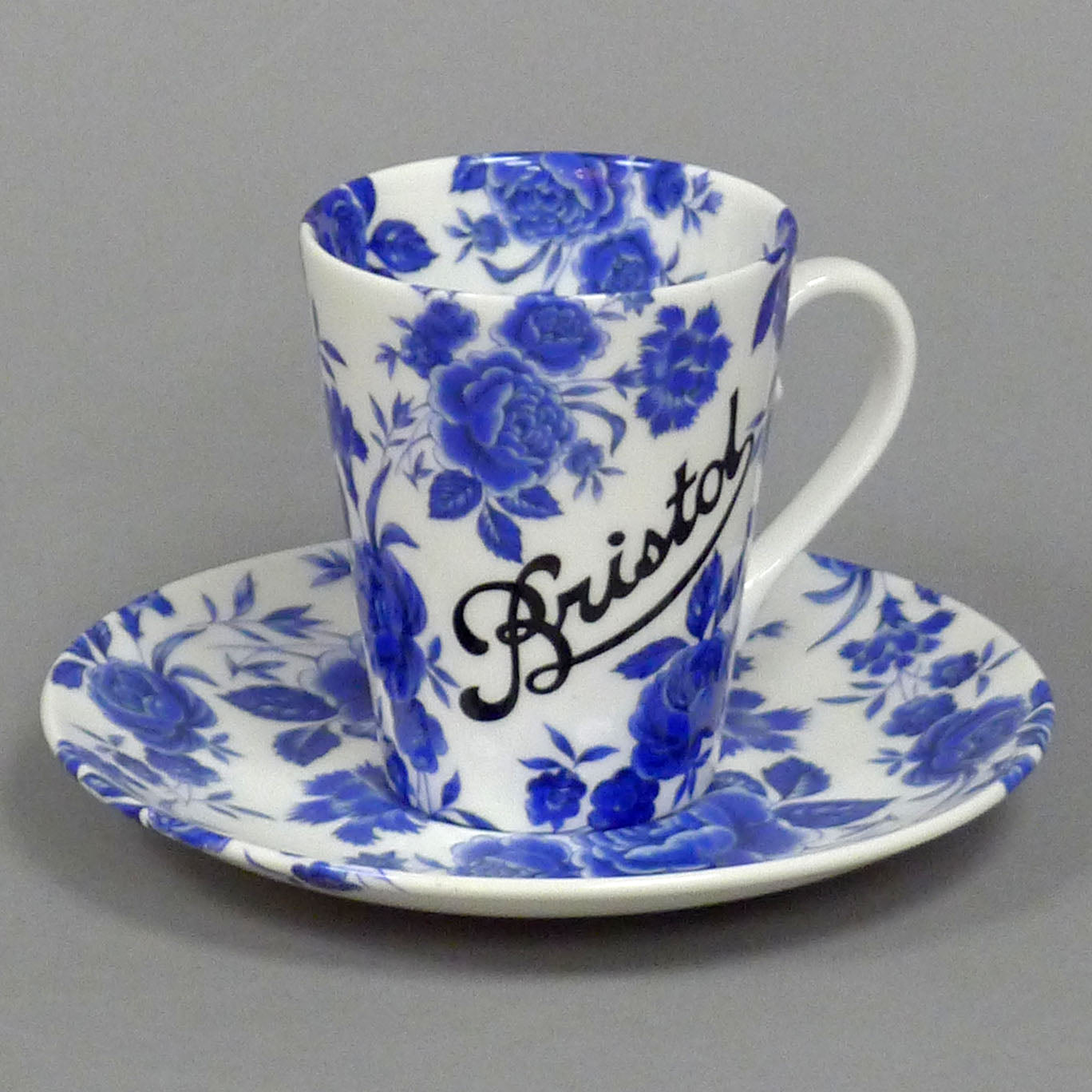 Blue Rose Various Cup and Saucer