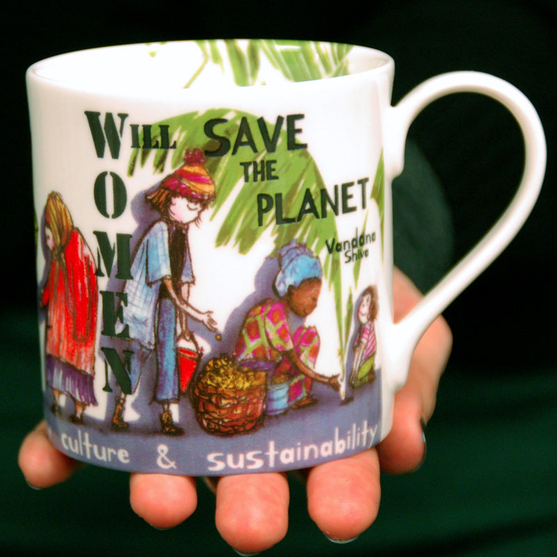 Women Will Save The Planet - Vandana Shiva Mug