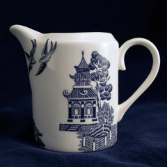 Deconstructed Willow Pattern Stirling Jug